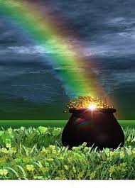 On Prosperity, Lack, and Perspective Pot-of-gold